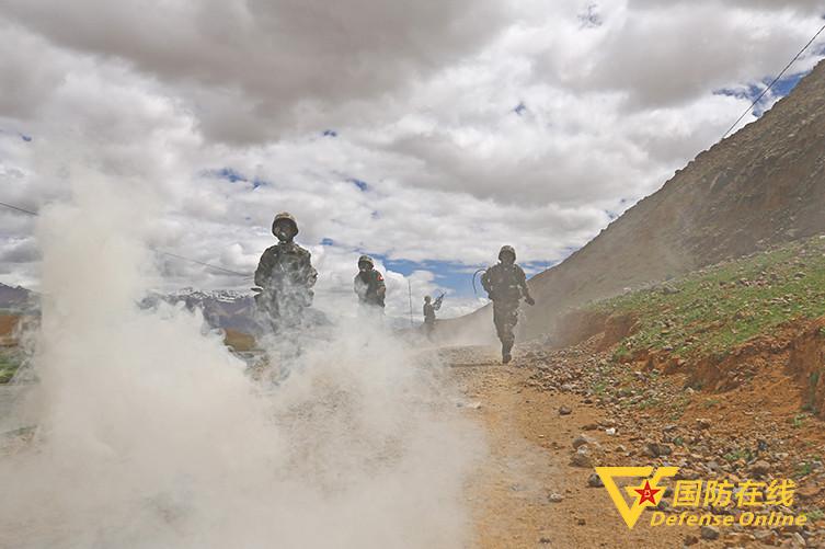 """西藏军区某旅野外驻训""""实录"""""""