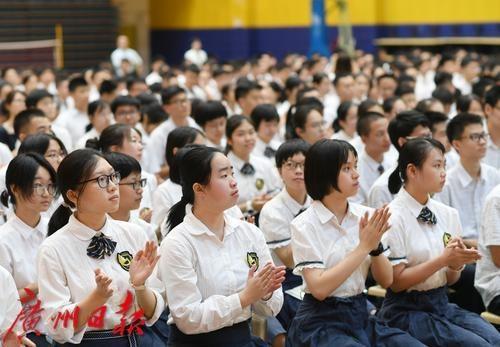 """防疫不松劲,迎接""""新高考""""!广州新一届高三学生陆续开学"""