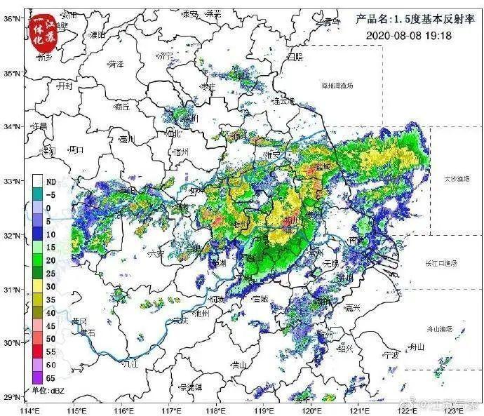 周日江苏部分地区仍有强降雨!台风走了,为啥暴雨反而多了?