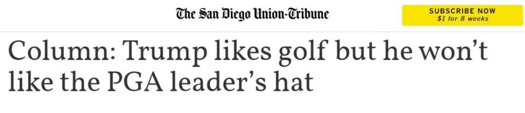 在特朗普迷恋的这项运动上 中国球员的帽子亮了