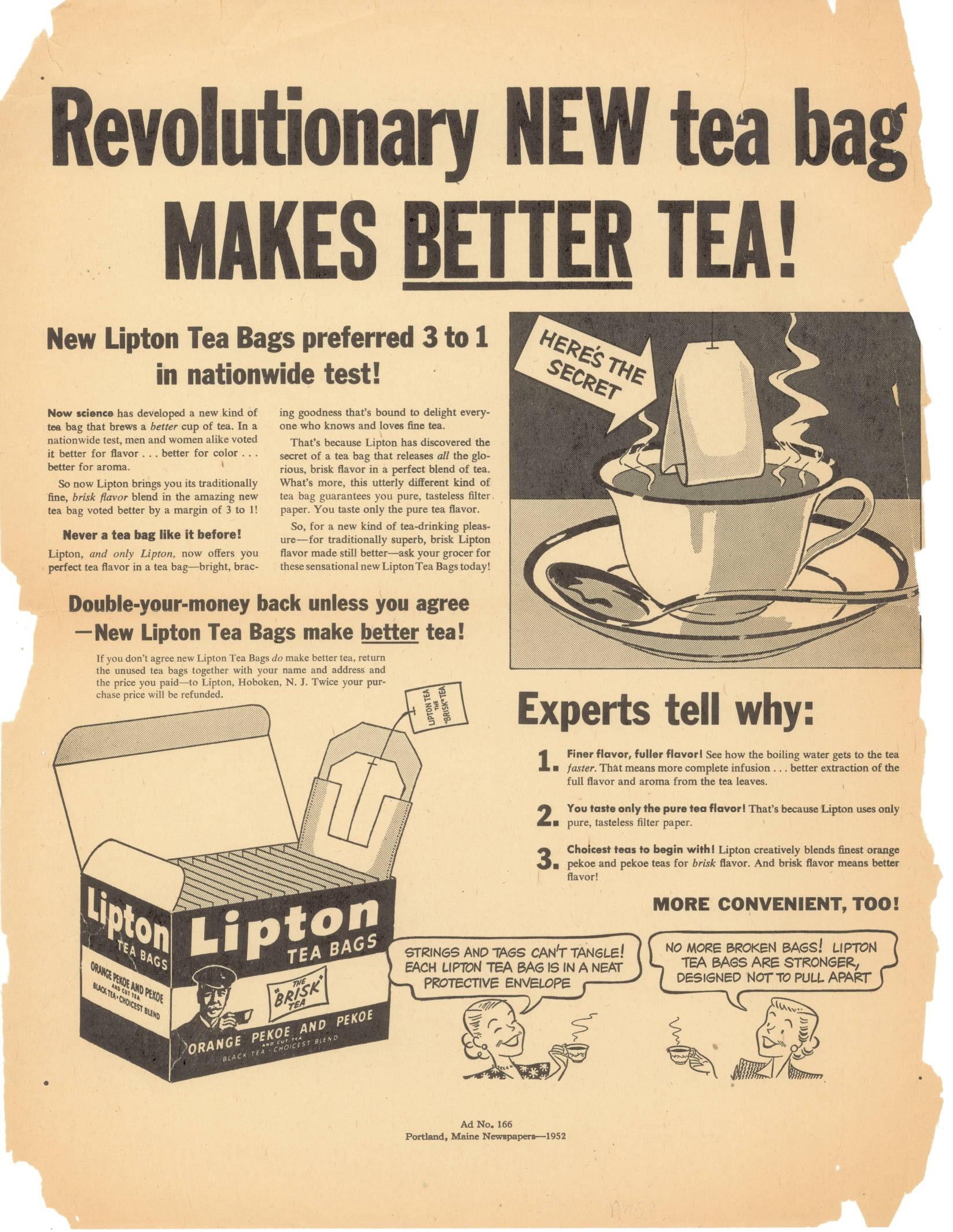 """""""茶饮之王""""立顿被抛弃,爱喝茶的都鄙视袋泡茶?"""