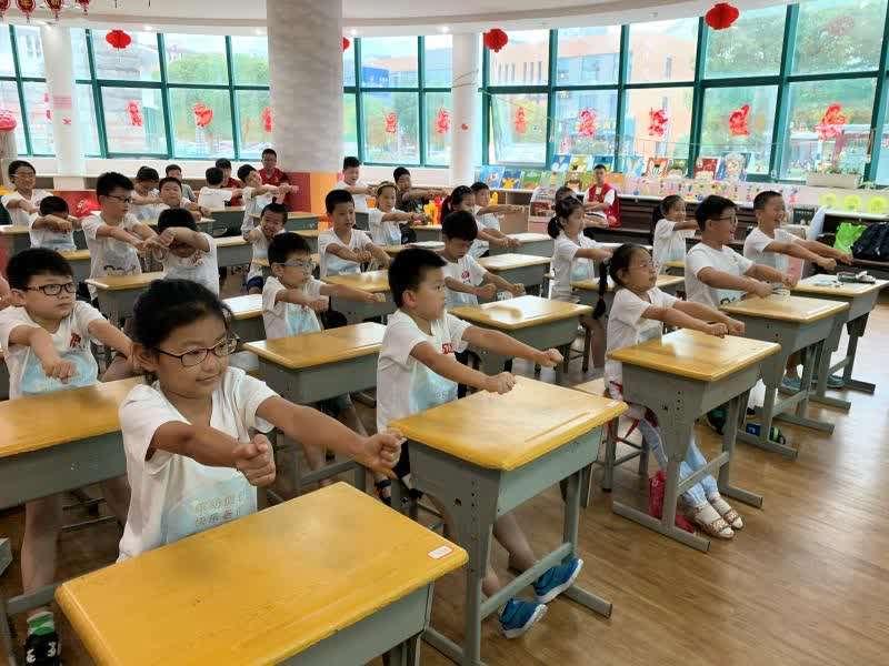 苏州共青团开设公益暑托班 服务来苏务工青年子女1800余人