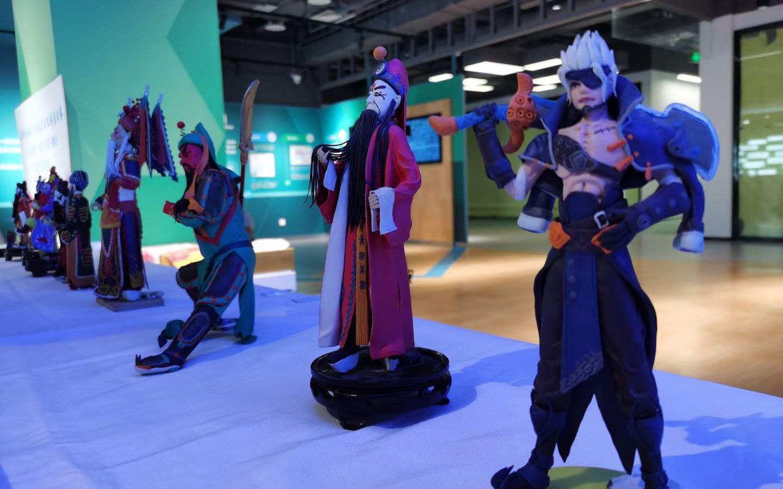 非遗面塑与机器人结缘,门头沟邀对口帮扶县参与北京文创大赛