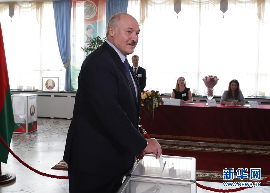 白俄罗斯总统选举投票正式开始