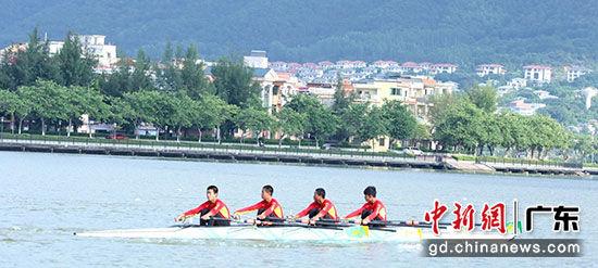 """2020广东省""""中国体育彩票""""青少年赛艇锦标赛开赛"""