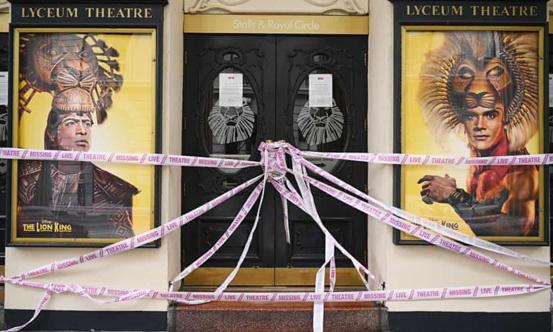 《【超越账号注册】英国剧院失业率持续增加 因救援资金迟迟不能到位》