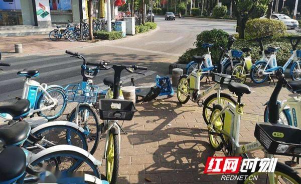 冷水滩杨家桥街道办:治理共享单车、电动单车乱停乱放措施有力