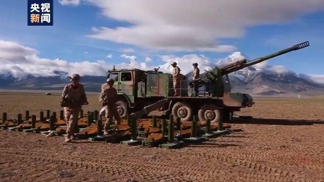换装星空迷彩!西藏军区合成部队多兵种协同打击