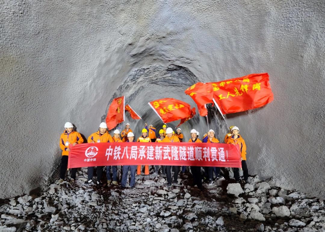 【建设】新建渝怀铁路二线涪陵至中嘴段开通运营