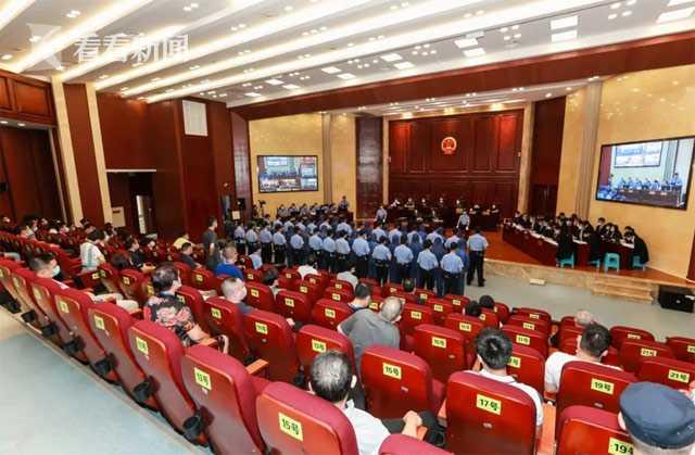 重庆尹光德涉黑案开庭:曾指认检察官系保护伞