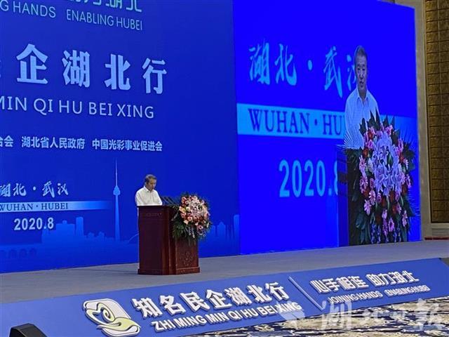 """陈东升:湖北将成为中国经济增长的新""""龙"""