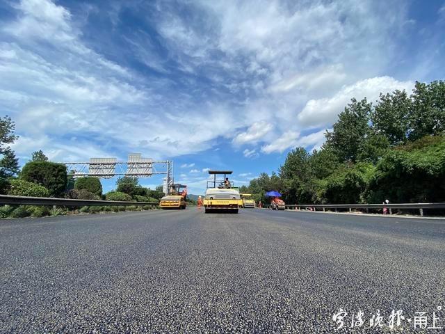 明天杭甬高速奉化江大桥要施工!杭州往北仑方向这个路段建议绕行