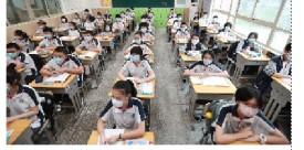 本溪日报武汉初一初二年级学生返校复学
