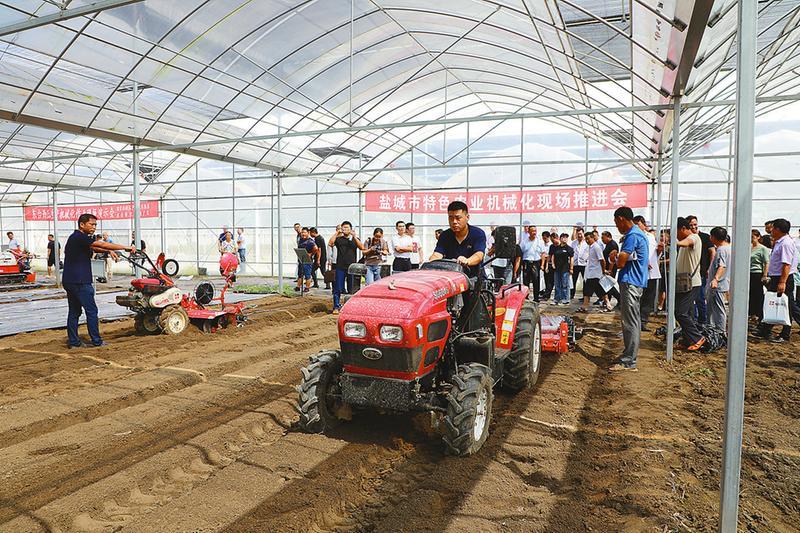 全市特色农业机械化现场推进会召开