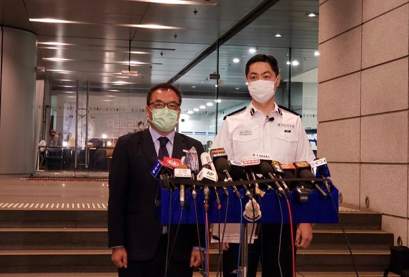 香港警方至今拘捕十人 涉违反《港区国安法》及串谋诈骗 其中涉及多名香港媒体高层