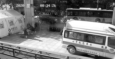 乘客突发急性心绞痛 西安20路公交车司机开大巴紧急送医