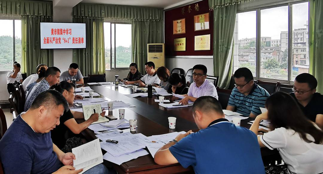 分层分级全面落实从严治党主体责任 自贡沿滩组建3个监督检查组