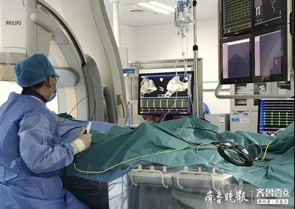 心慌胸闷不再怕,滨州市人民医院开展射频消融手术解患者心病