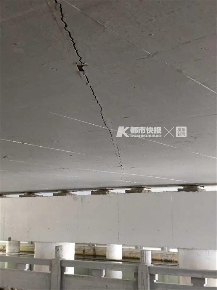杭州一新建桥尚未开通就有两厘米裂缝?责任单位回应