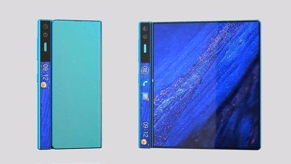 华为第二代折叠屏手机Mate X2曝光:改用内折方案 全新外观