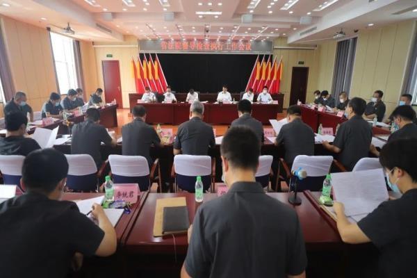 黑龙江省法院党组成员王启胜一行深入大庆中院督导检查执行工作