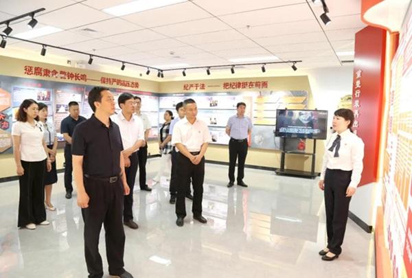 信阳市浉河区:廉政教育基地成反腐倡廉新平台