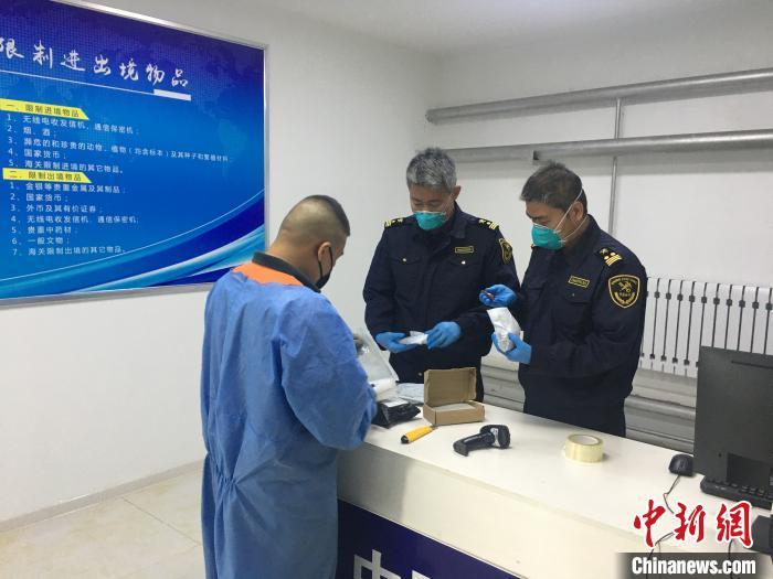 前7月中国最大陆路口岸共验放出境邮件250余万件
