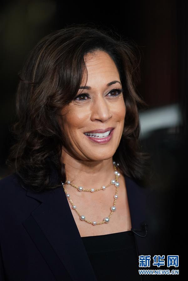 拜登提名美联邦参议员哈里斯为民主党副总统候选人