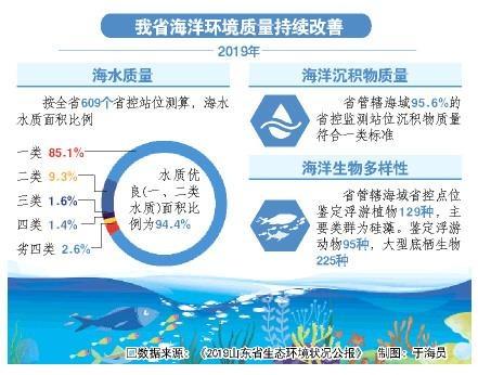 """山东海洋生态环境持续向好""""绿水青山""""满长岛"""