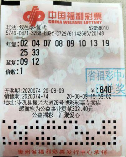 家人生日组号,贵州黔东南彩民获893万大奖