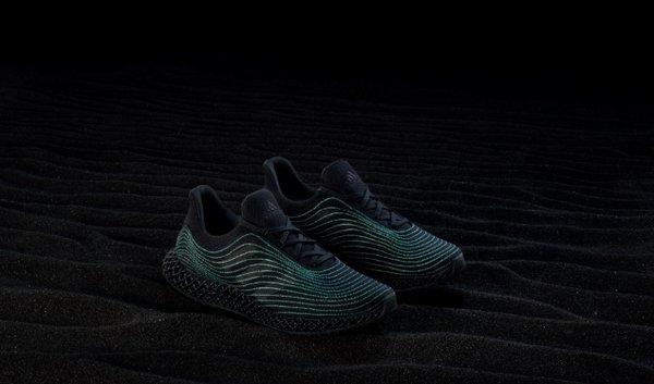 阿迪达斯推出新款Parley 4D跑鞋五周年限定版 | 美通社