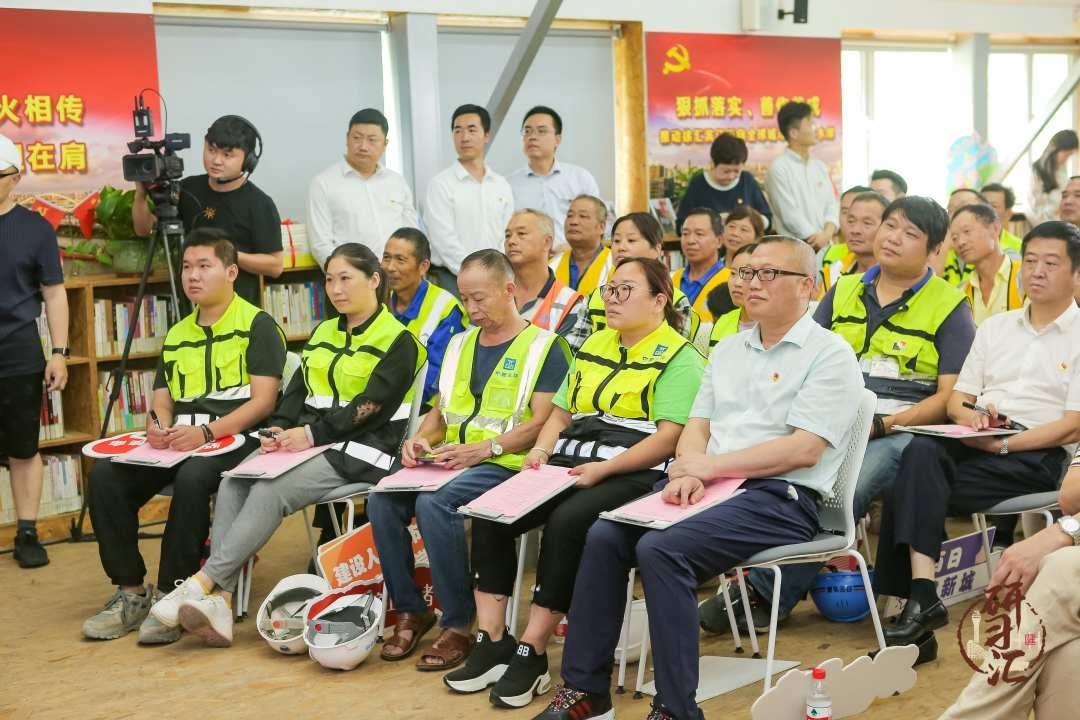 """""""可移动""""、在一线,徐汇滨江""""建设者之家""""创新党建服务"""