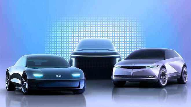 光看概念车怎么够? 现代全新品牌首款车型现身