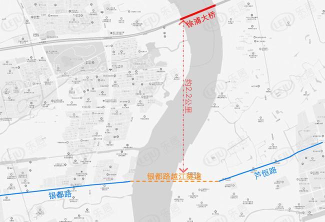 闵行越江隧道开工沿线拆迁工作启动 这些新盘或坐享红利