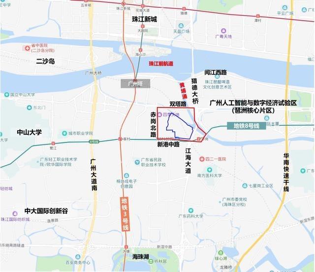 广州塔南将添超大型商业综合体,TIT科贸园地块规划获得通过