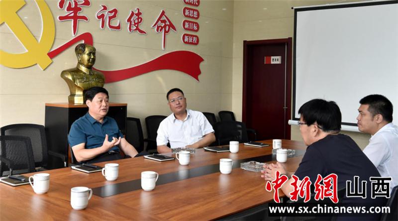 山西临汾尧都区委常委、政法委书记乔永生一线调研指导清收工作