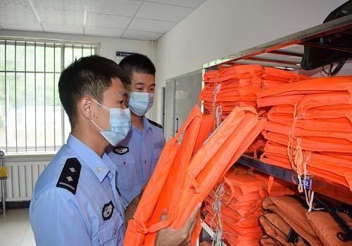 通化边境管理支队凉水边境检查站积极开展防汛工作