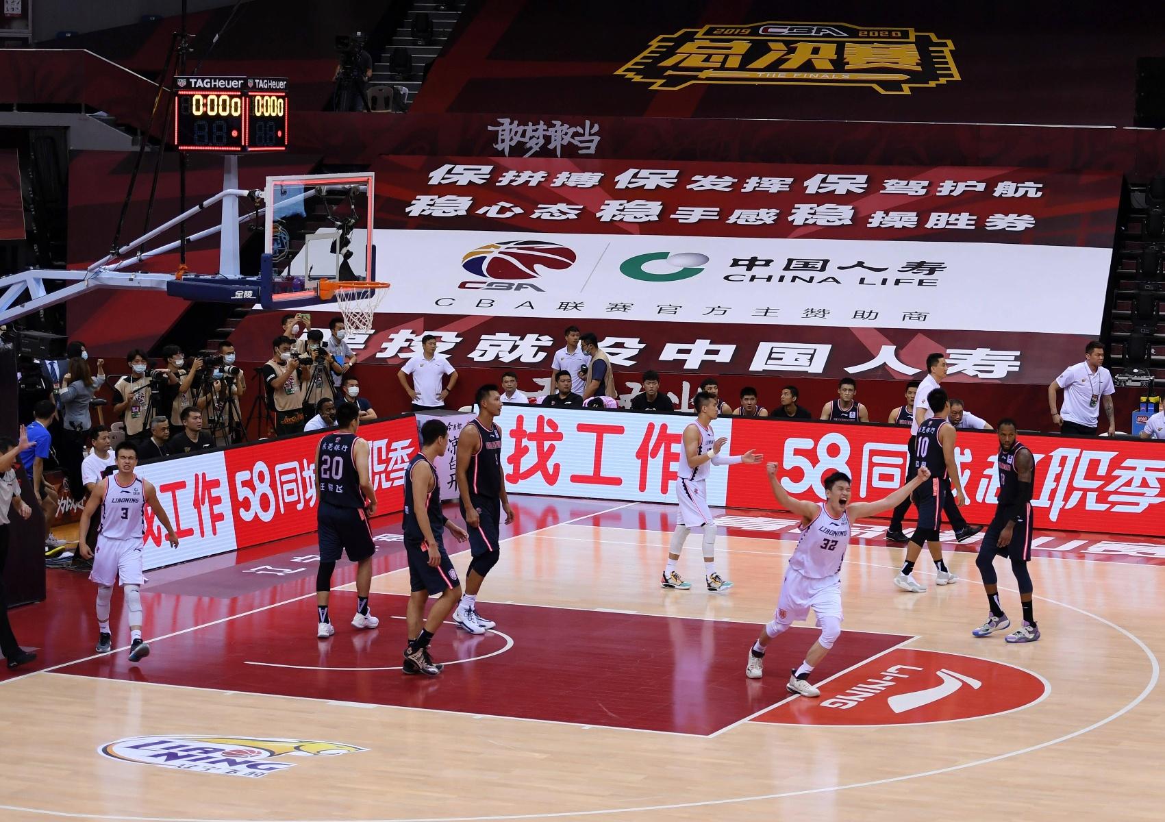 篮球——CBA总决赛第二场:辽宁本钢胜广东东莞银行