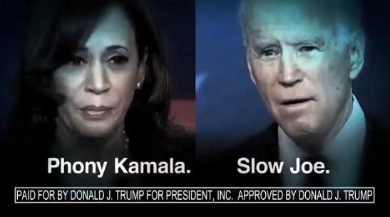 特朗普发布的视频截图