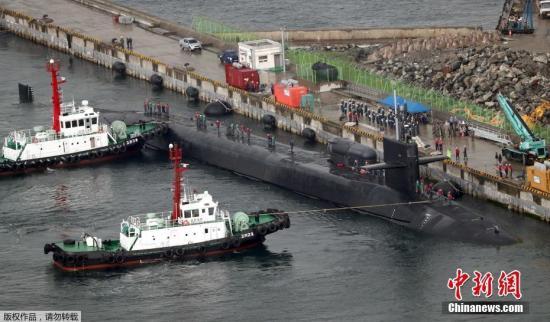 资料图:釜山港。