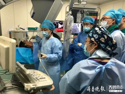 """东营市人民医院心血管内科成功开展首例房颤""""一站式""""治疗手术"""
