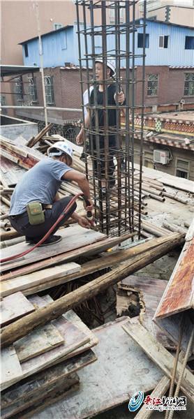 """科创新区征迁区域内""""种房"""" 晋江城管即查即拆保障项目建设"""