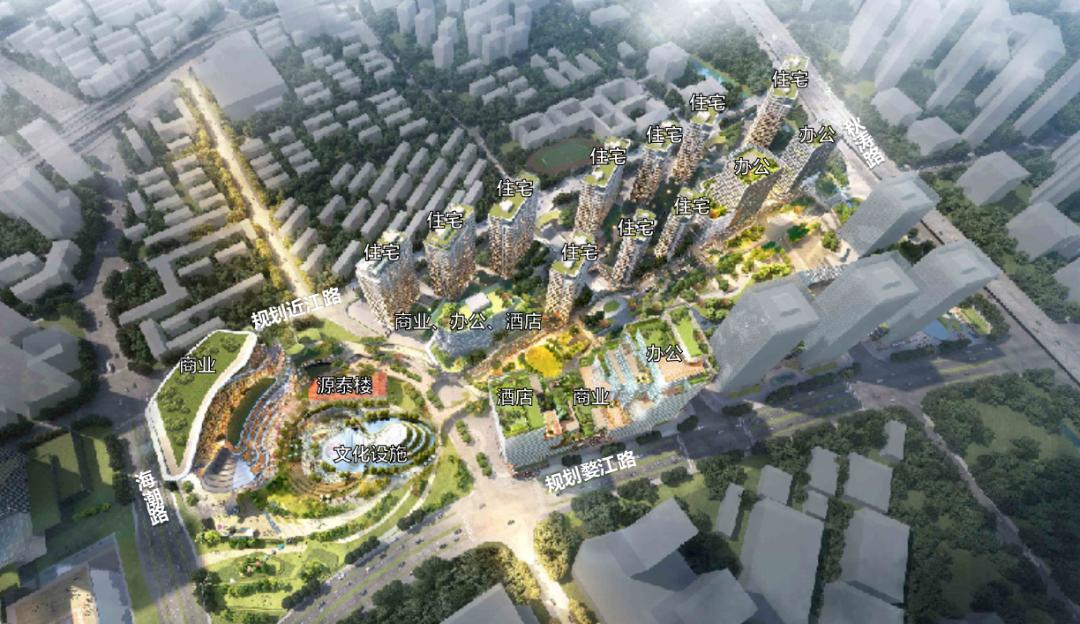 杭州新地标!新世界望江项目规划公示!K11、瑰丽酒店正加快到来