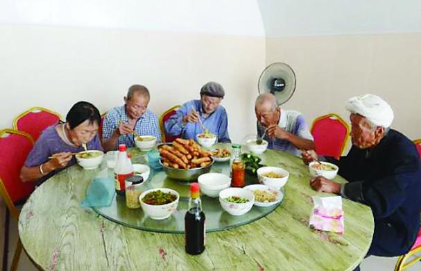 """石楼沙窑村日托中心:让农村老人进入""""幸"""