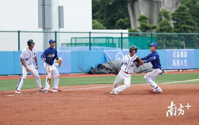 """棒球赛事恢复,省""""熊猫杯""""青少年棒球锦标赛在中山东升开赛"""