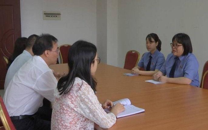 """台山市水步检察室:为经济发展提供司法保障 打造""""工业型""""检察室"""