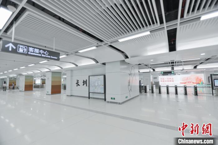 深圳地铁6号线长圳站。深圳地铁集团 供图