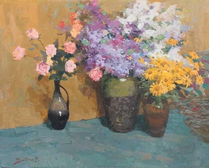 乌克兰色彩大师——瓦莱里·什马特科油画作品欣赏