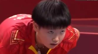 """谁是""""女乒新一姐""""?孙颖莎奥运模拟赛连拿两金"""