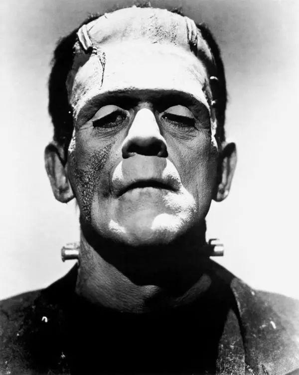 """""""弗兰肯斯坦的怪物"""",图自维基百科"""